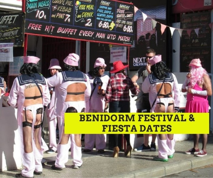 Benidorm Fiesta Dates
